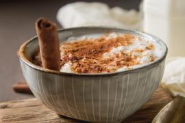 La versión healthy de arroz con leche