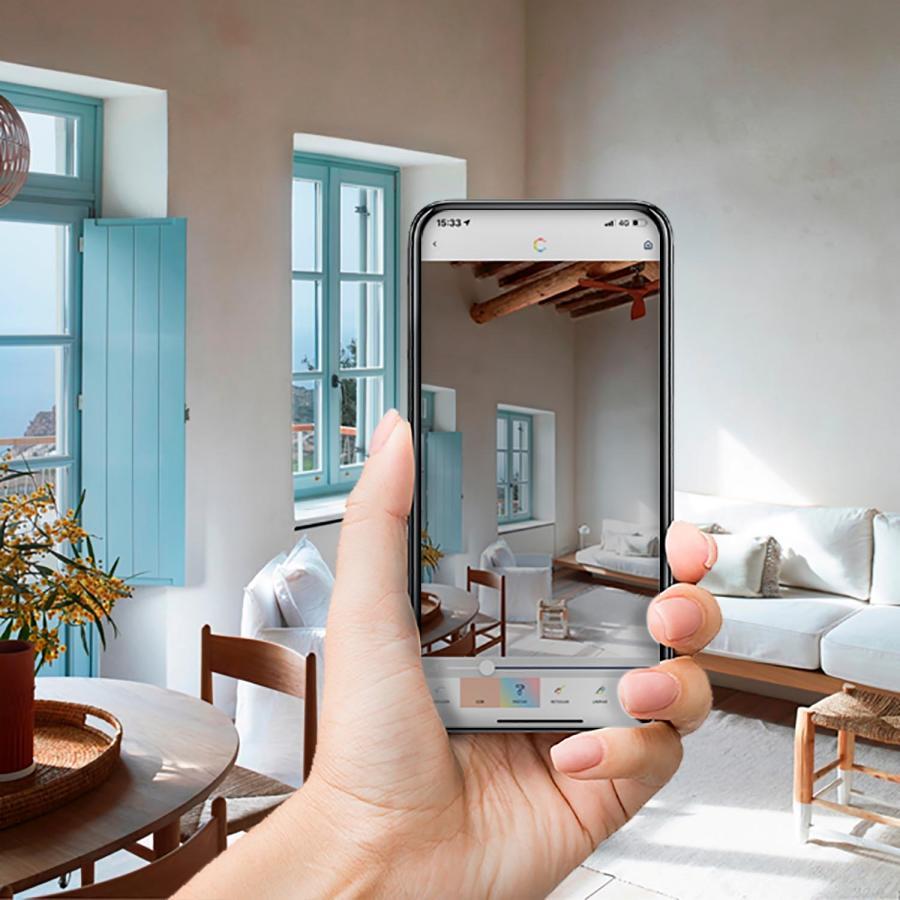 No sabes de qué color quieres pintar tus paredes? ¡Descúbrelo con COLORiT 2, la nueva aplicación de CIN Valentine!