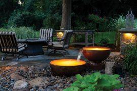 elementos decorativos y funcionales para el jardín
