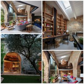 Espectacular transformación de un antiguo pajar, obra del arquitecto Patrick Genard