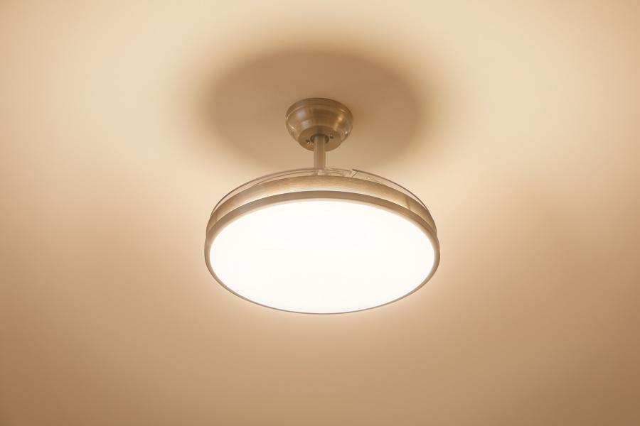 La gama Philips EyeComfort sigue creciendo con el nuevo ventilador de techo con iluminación