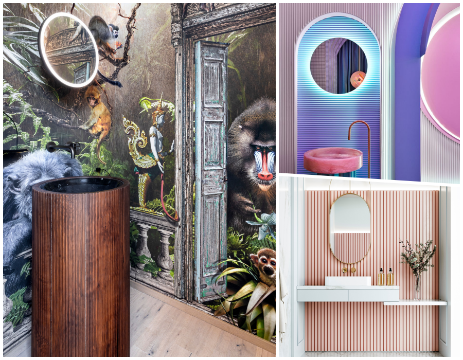 3 baños extraordinarios que te transportarán a un mundo de fantasía