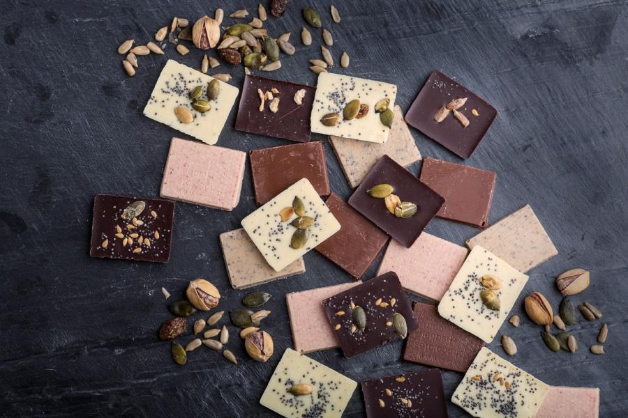 Beneficios de mezclar chocolate, semillas y frutos secos para la práctica deportiva