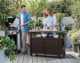 KETER: Mueble BBQ, el aliado perfecto para las barbacoas