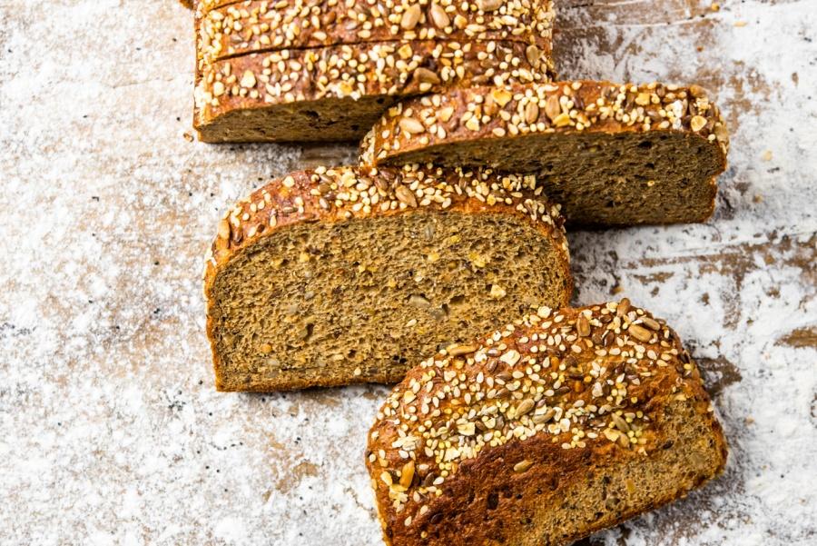 Pan proteico: muy rico en fibra y perfecto para deportistas