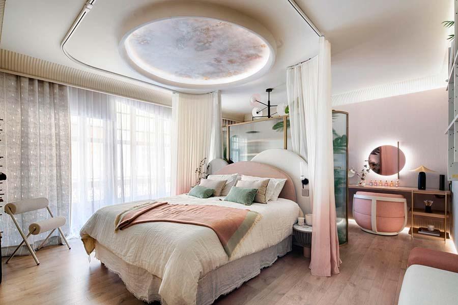 Dormitorios, vestidores y zonas de ocio en Casa Decor 2021
