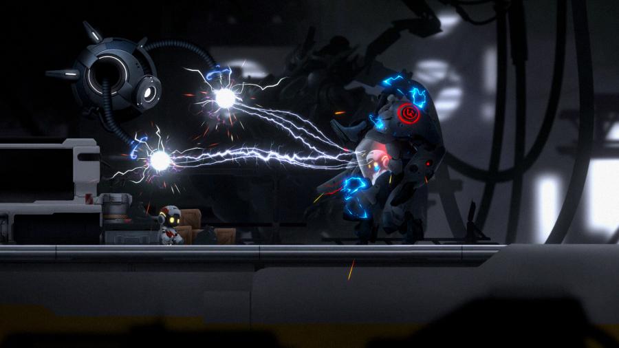 Iniciando Monobot: el juego en 2D de puzles y plataformas llega hoy a Steam