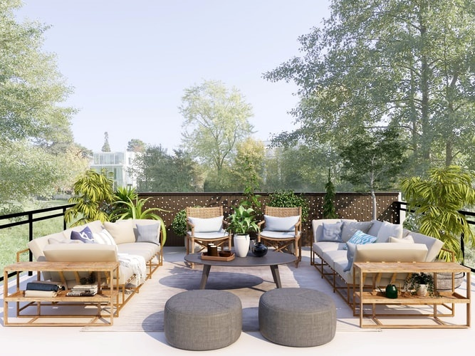 Tendencias en la decoración de terrazas para este verano