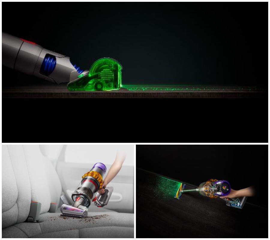 Dyson lanza su primera aspiradora con tecnología láser para detectar el polvo oculto