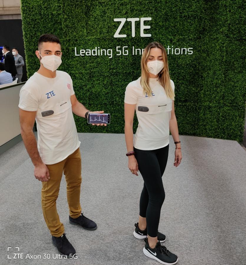 ZTE presenta YouCare: la camiseta que salva vidas usando 5G ya es una realidad