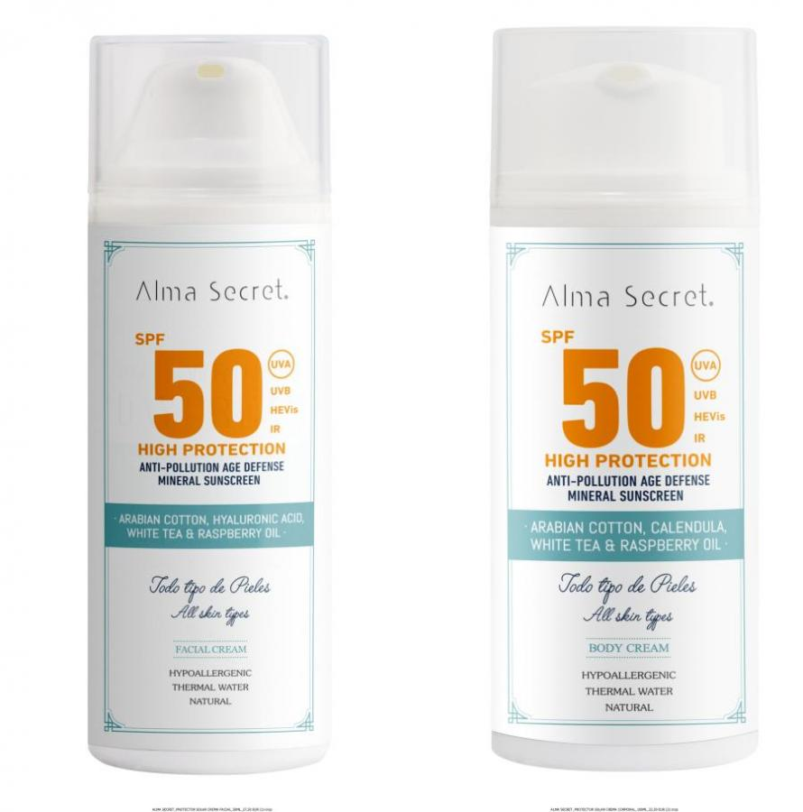 Diferencia entre filtros físicos y filtros químicos de la mano de Alma Secret