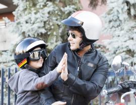 Vuelta al cole en moto