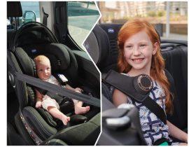 Chicco Air, la nueva gama de sillas para auto con un sistema de ventilación patentado y etiquetado inteligente
