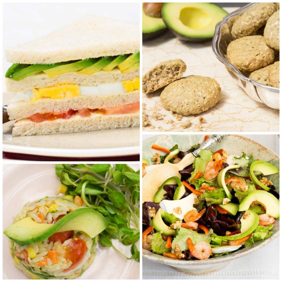 healthy recetas con aguacate
