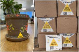 Etiquetas adhesivas y ecológicas para acabar con el mosquito tigre en cualquier terraza o jardín
