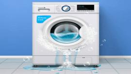 evitar que la lavadora pierda agua