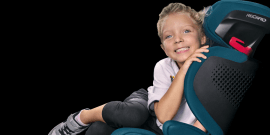 Recaro presenta Mako Elite 2, la silla de auto con sistema de audio integrado que crece junto a los peques